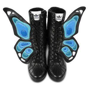 Adidas Original Jeremy Scott Butterfly Wings Wedge